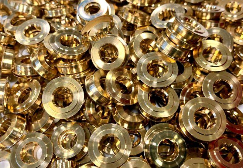 bronzo tornitura a barre automatica